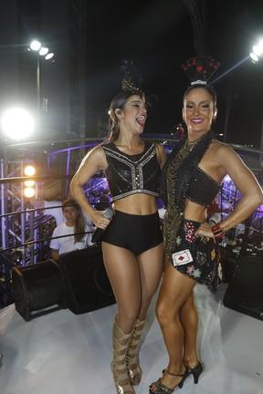 Mari Antunes e Claudia Leitte (Foto: Fred Pontes / Divulgação)