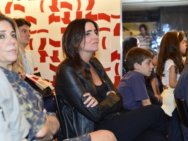 Malu Mader em lançamento de livro no Rio (Foto: André Muzell/ Ag. News)
