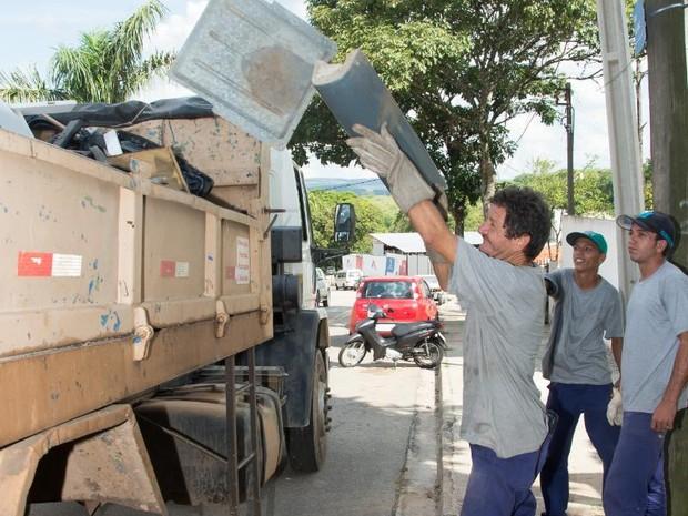 Mutirões de retirada de entulhos continuam em Sorocaba (Foto: Prefeitura de Sorocaba/Divulgação)