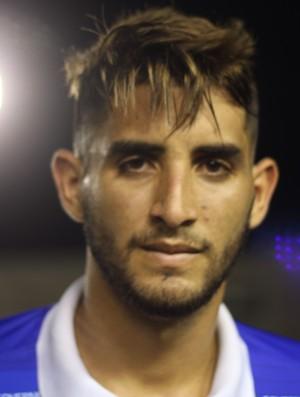 Bruno Paraíba, atacante CSP (Foto: Cisco Nobre / GloboEsporte.com)