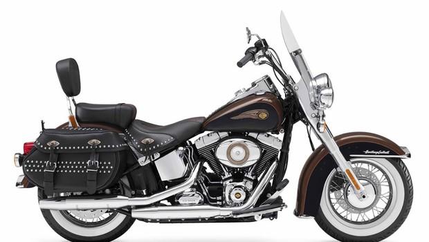 Heritage Softail® Classic 110th Anniversary Edition (Foto: Harley-Davidson)