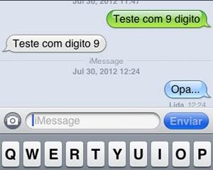 iMessage voltou a funcionar após mudança na configuração do iPhone (Foto: Reprodução)