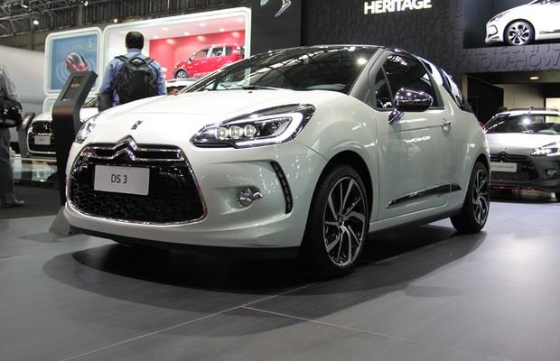 Citroën DS3 no Salão do Automóvel 2014 (Foto: Gustavo Maffei/Autoesporte)