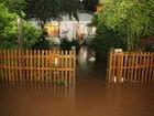 Fortes chuvas causam alagamentos e estragos em regiões de SC