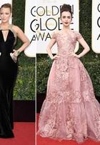 Blake Lively é eleita a mais bem-vestida do Globo de Ouro 2017