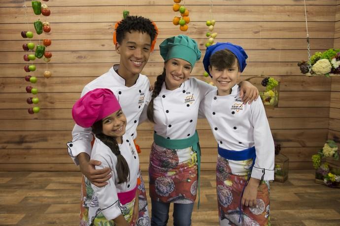 Super Chefinhos estreia em 3 de outubro (Foto: Globo/Renato Rocha Miranda)