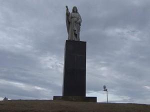 Monumento também será requalificado pela prefeitura (Foto: Reprodução / TV Bahia)