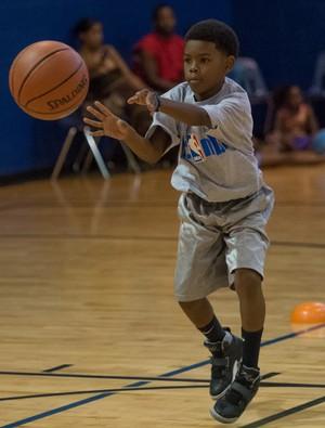 Comunidade da Rocinha será a primeira a receber o programa Jr. NBA  (Foto: Divulgação / NBA)