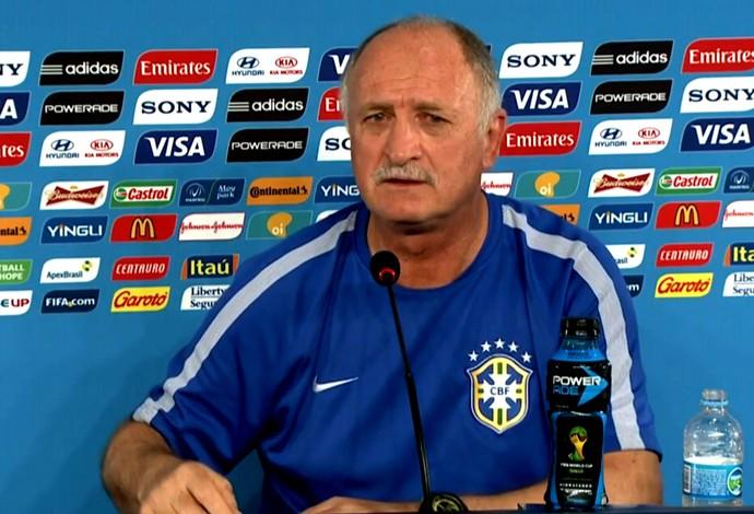 FRAME - Felip�o Scolari Brasil coletiva (Foto: Globoesporte.com)