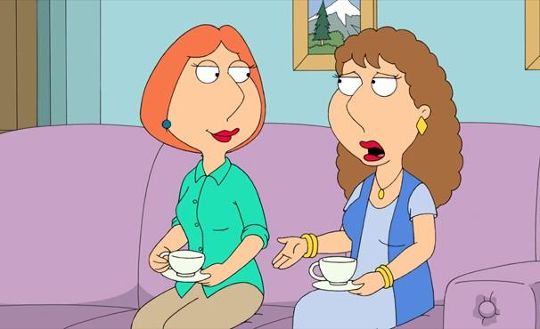Carol chega deprimida na casa de Lois após ser abandonada pelo marido (Foto: Divulgação / Twentieth Century Fox)