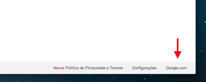 Acessando o Google.com (Foto: Reprodução/Helito Bijora) (Foto: Acessando o Google.com (Foto: Reprodução/Helito Bijora))