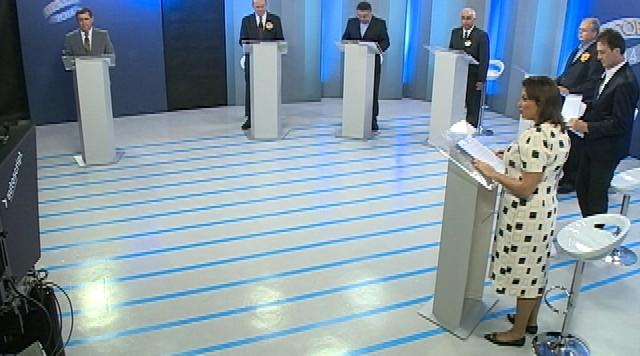 Debate entre os candidatos ao governo de Santa Catarina - Parte 2