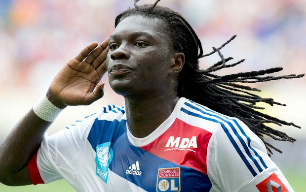 Gomis,Montpellier x Lyon, Final da Supercopa da fran&#231;a (Foto: Ag&#234;ncia AFP)