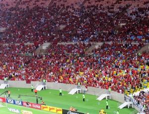 Flamengo x Atlético-MG - maracanã (Foto: Thales Soares)