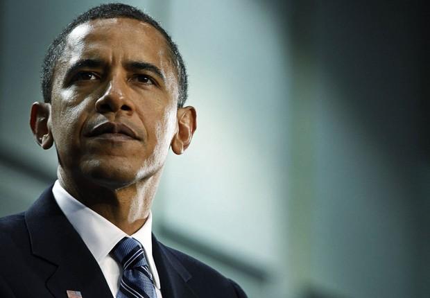 O presidente norte-americano Barack Obama discursa na Casa Branca (Foto: Kevin Dietsch/Getty Images)