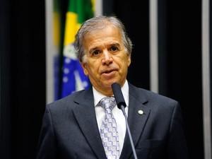 O deputado federal Edinho Araújo (PMDB-SP), anunciado como ministro no governo Dilma (Foto: Gustavo Lima/Câmara dos Deputados)