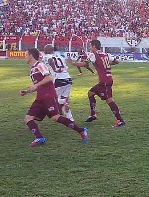Aracruz x Desportiva Ferroviária (Foto: Eduardo Dias/Globoesporte.com)