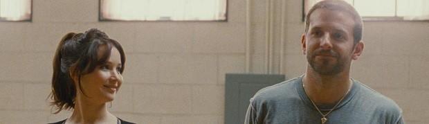 Jennifer Lawrence e Bradley Cooper em 'O lado bom da vida' (Foto: Divulgação)