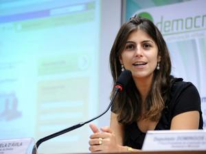 Manuela D'Ávila (Foto: Lula Lopes / Agência Câmara)