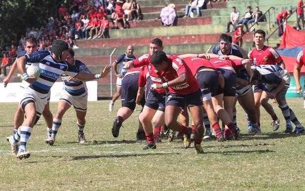 Em decisão equilibrada, o São José Rugby derrotou o SPAC por 25 a 18 (Foto: Divulgação)