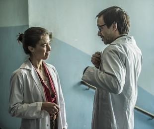 Carolina (Marjorie Estiano) e Evandro (Julio Andrade) | Mauricio Fidalgo / TV Globo