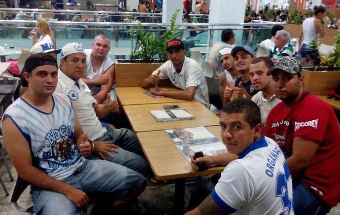 Encontro torcidas Atlético-MG e Cruzeiro (Foto: Anatorg)