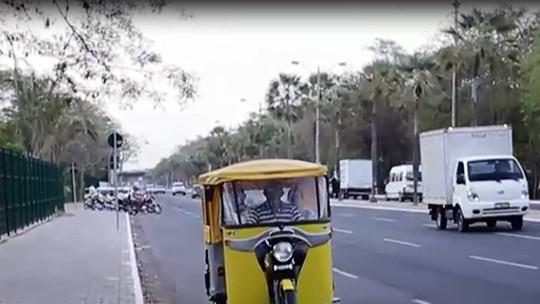 Inspirado em 'Caminho das Índias', piauiense substitui moto por 'tuk tuk'