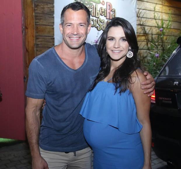 Malvino Salvador e Kyra (Foto: Daniel Pinheiro/AgNews)