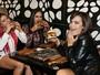 Geisy Arruda, Dai Macedo, Mendigata e Thais Bianca saem da dieta juntas