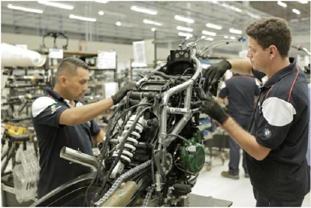 Fábrica da BMW em Manaus (Foto: Divulgação)