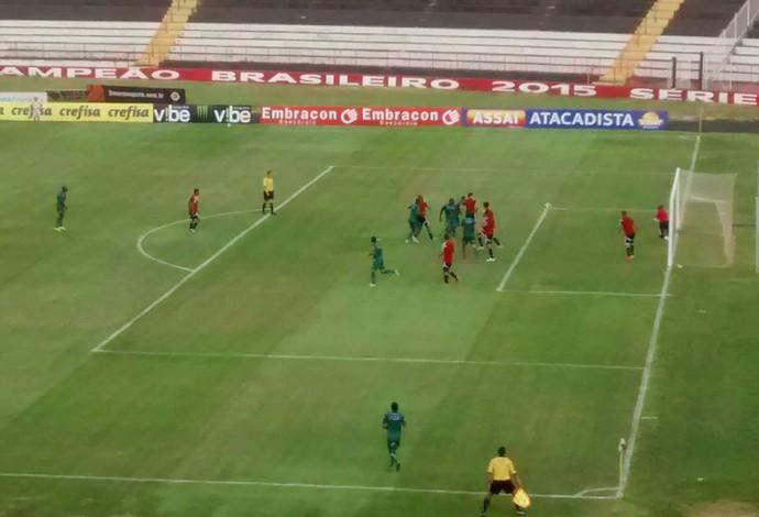 Uberlândia X Botafogo-SP amistoso (Foto: Gilmar Pereira)