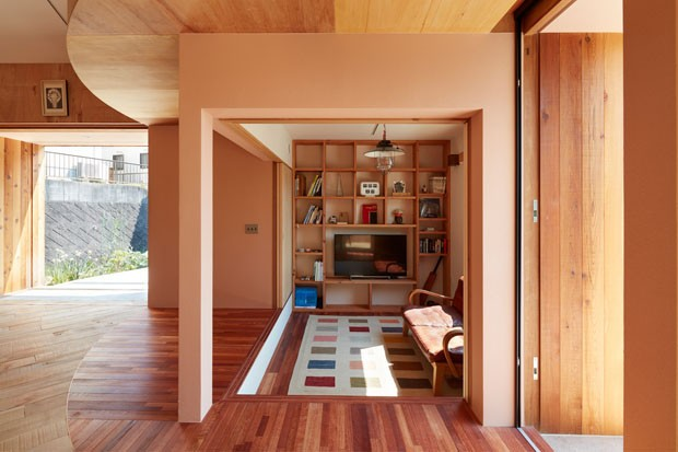 arquitetura-casa-jardim-roda (Foto: Toshiyuki Yano/ Divulgação)