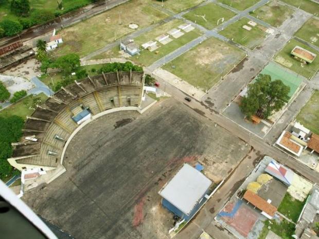 Área para o Fan Fest já foi aprovada, mas Secopa fala em alterações no projeto. (Foto: Edson Rodrigues / Secom-MT)