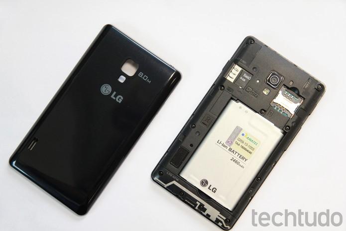 LG Optimus L7 2 (Foto: Luciana Maline/TechTudo)