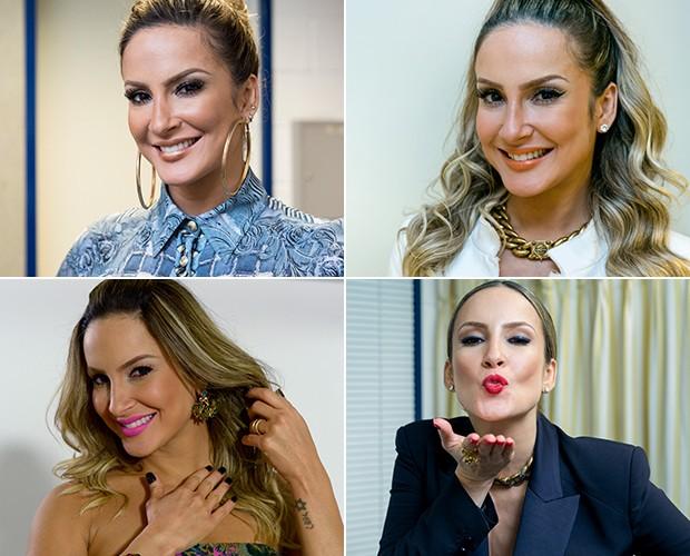 Diferentes batons que Claudia Leitte usou na terceira temporada do The Voice (Foto: Gshow/The Voice Brasil)