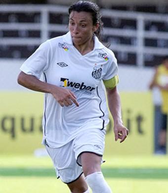 Marta santos (Foto: Site Oficial do Clube)