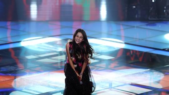 Valentina Francisco é a primeira finalista do 'The Voice Kids' pelo Time Brown
