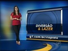 Agenda cultural: veja atrações para o fim de semana na região de Rio Preto