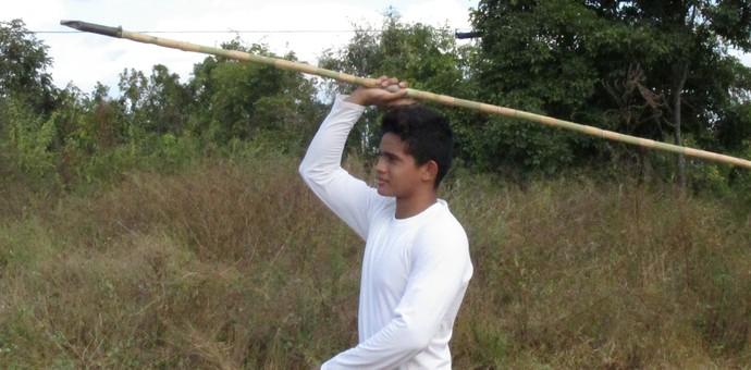 Dardo de bambu (Foto: Daniel Cunha)