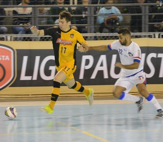 Grêmio Mogi x Sorocaba Liga Paulista de Futsal (Foto: Cairo Oliveira)