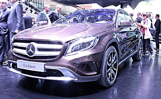 Mercedes-Benz GLA (Foto: Julio Cabral/Autoesporte)