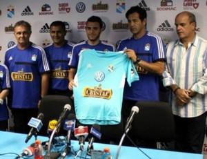 Sporting Cristal Atlético-PR Copa Libertadores (Foto: Site oficial do Sporting Cristal/Divulgação)