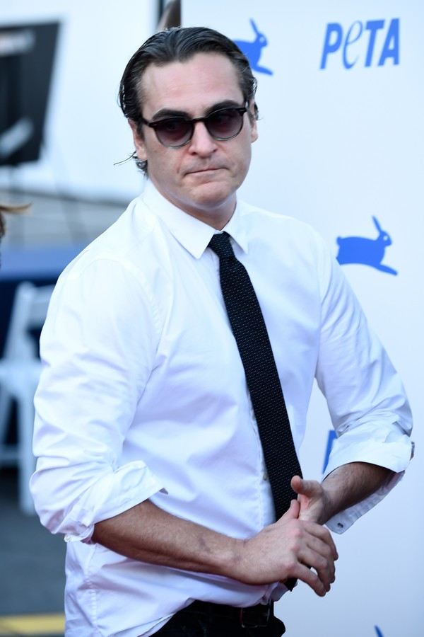 O surto de Joaquin Phoenix foi encenado (Foto: Getty Images)