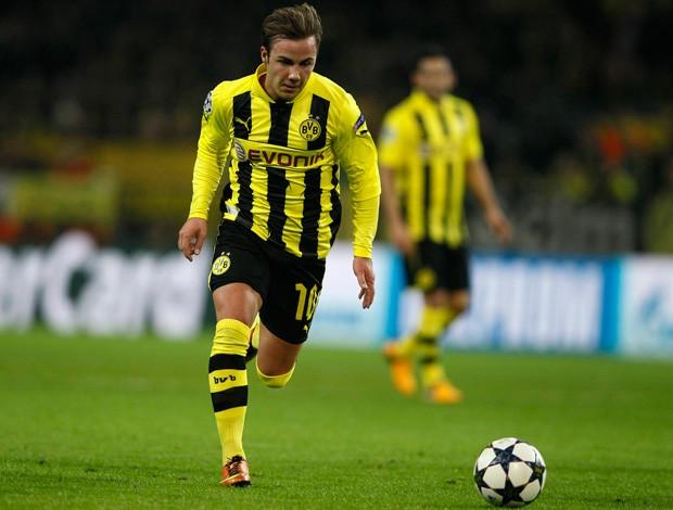 Mario Goetze, Borussia Dortmund x Shakhtar (Foto: Reuters)