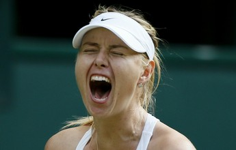 Sharapova trava longo duelo, mas supera americana e vai à semifinal