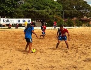 Circuito RN de Beach Soccer, Arena Pirangi (Foto: Divulgação)