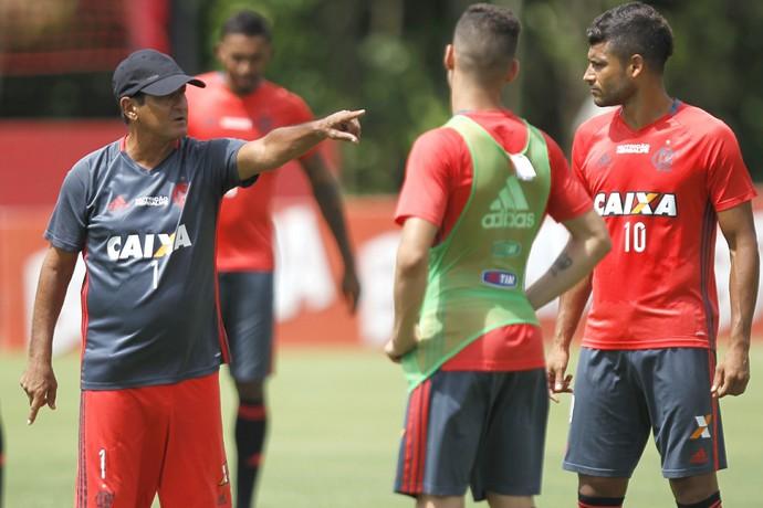 Ederson, Flamengo, Ninho (Foto: Gilvan de Souza/Fla Imagem)