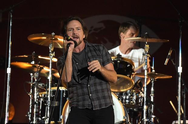Eddie Vedder, vocalista do Pearl Jam (Foto: Getty Images)