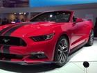 Ford Mustang passa por mudanças visuais; carro chega ao Brasil em 2018