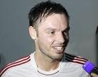 Autor do gol alemão exalta festa na Arena (Diego Guichard / GLOBOESPORTE.COM)